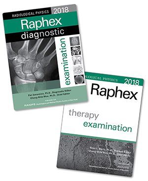Medical physics publishing the raphex radiological physics examinations are designed to be useful as practice tests advance study guides or exams for course credit fandeluxe Gallery