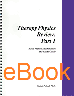 Therapy Physics Review, eBook
